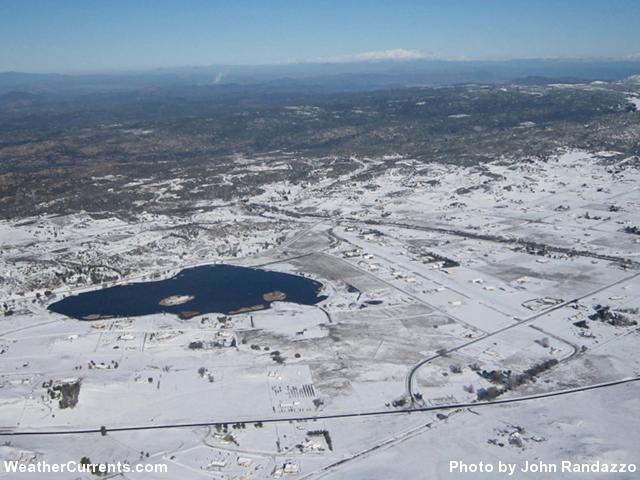 Rain, Hail and Snow: February 25-27, 2011 - Lake Elsinore