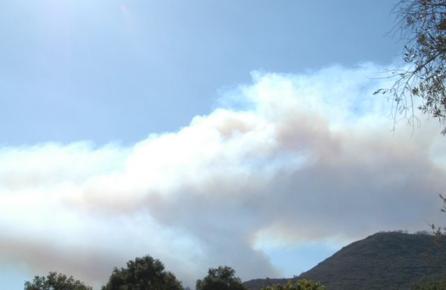 Colina Wildfire: September 10, 2007