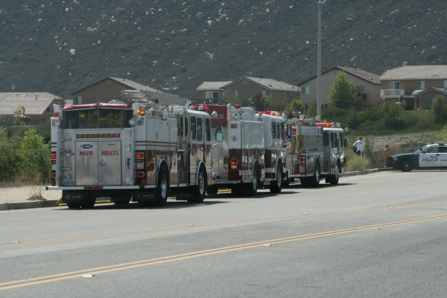 Murrieta Fire: April 13, 2007