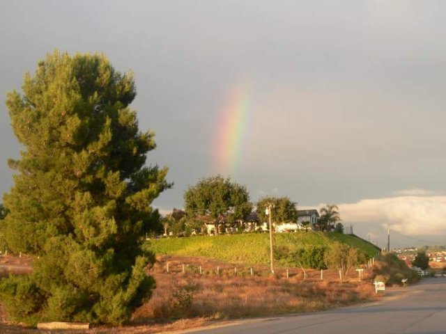 Temecula Valley Rainbow: October 17, 2005