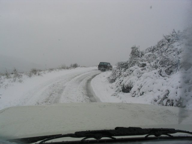Temecula Valley Snowfall: November 21, 2004