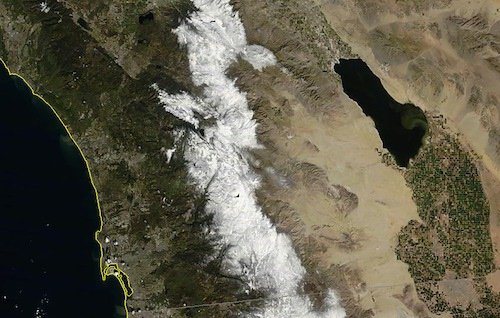 Southern California Snow on February 27th, 2011