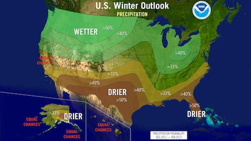 2012 US winter outlook