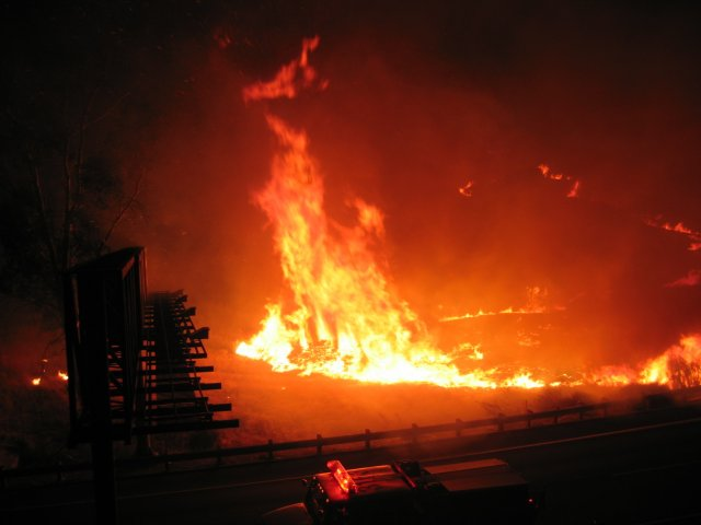 Woodhouse Fire: October 5-6, 2005