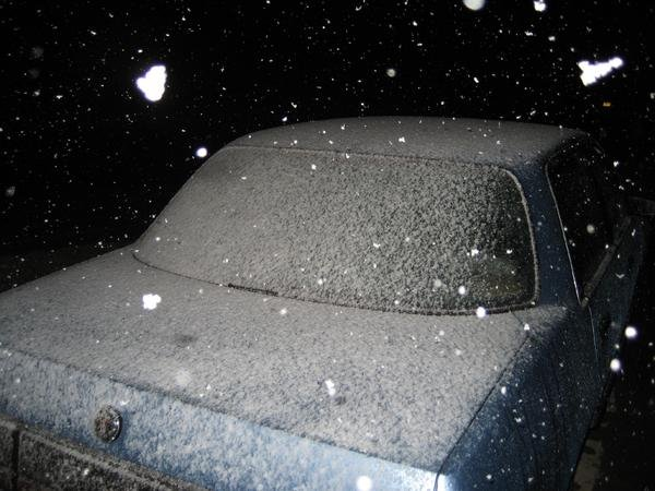 Inland Valley Snowfall: January 12, 2007