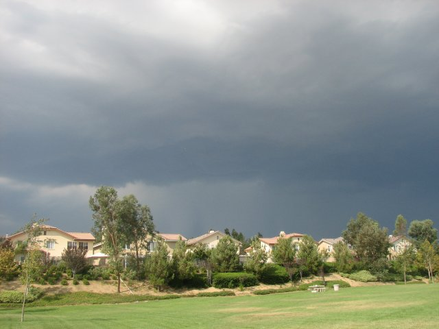 Thunderstorm and Dust Storm: September 6, 2006