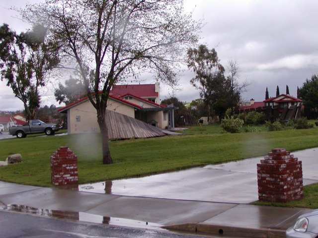 Tornados Tear Through Fallbrook, Rainbow and Temecula: February 19, 2005