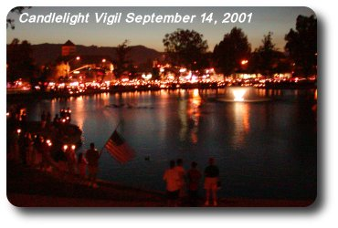 Candlelight Vigil at the Duck Pond