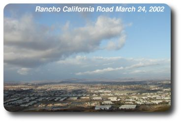 Clouds over Temecula Valley